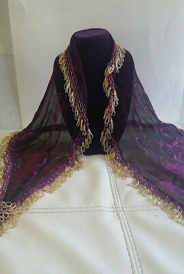 Hand Made Belly Dance Dancing Costume Hip Skirt Scarf shwal