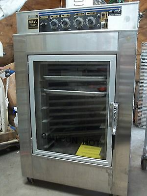 Commercial Bakery Oven--NU-VU--Convection/Prove/Bake/Cook & Hold Oven UB-3TG