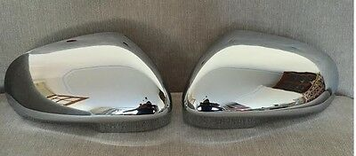 Chrome Door Wing Mirror Covers Fits Jaguar Xf Xk Xkr Xj Xe 2010-2018 Models