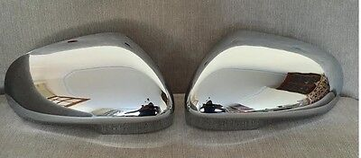Chrome Door Wing Mirror Covers For Jaguar Xf Xk Xkr Xj Xe 2010-2018 Models
