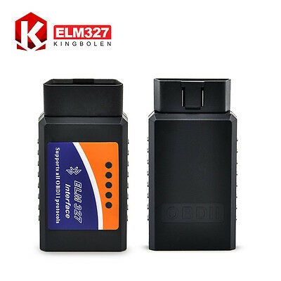 OBDII ELM327 V2.1 Bluetooth Android Torque Auto Diagnostic Interface Car Scanner