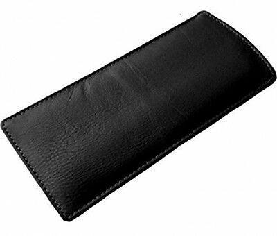 Durable Slim Soft Leather Eye Glasses Case Sunglasses Reading Glasses Protector