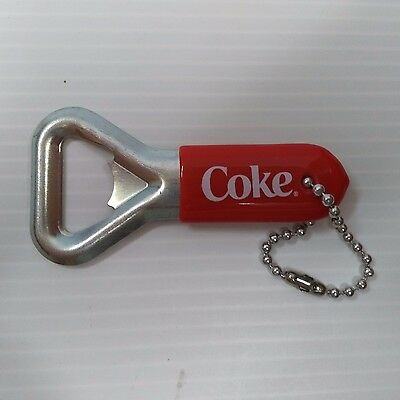 Coca-Cola Mini Bottle Opener Keychain - FREE SHIPPING
