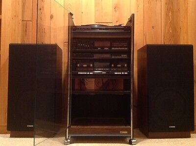 Exceptionnel Fisher Rack Stereo System With Cabinet