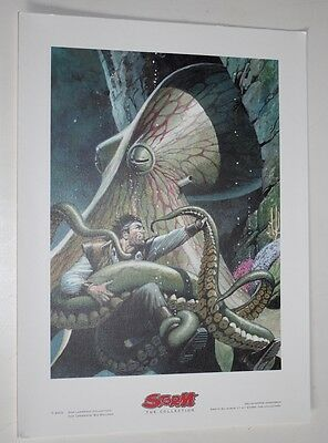 Don Lawrence The Genesis Equation Art Print - A4 - 270 gm paper Limited Edition