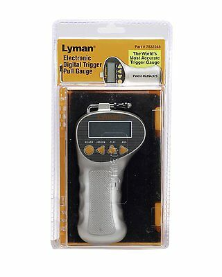 Lyman electronic digital trigger pull gauge meter shooting weight force firearms