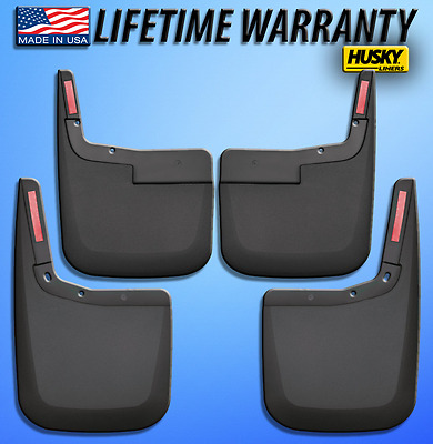 Mud Flaps 2015-2017 Ford F-150 (w/out fender trim) Husky Liners Splash Guards