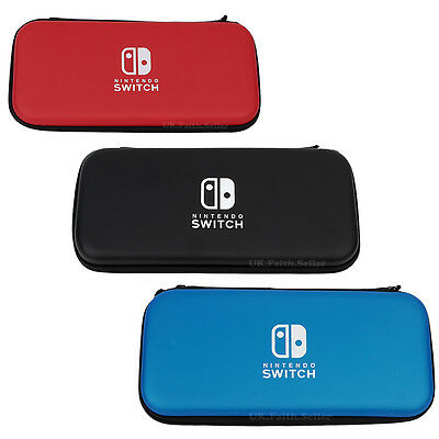 Hard Case Pouch & Screen Protector for Nintendo Switch Console Game Accessories