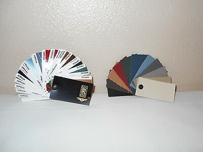 Vintage Rolls Royce Sample Color Swatches