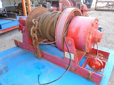 DP Hydraulic Planetary Winch 45,000LBS - Model 45BCT4L2E - Good Condition