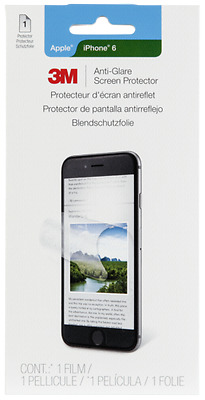 3M Natural View Anti-Glare Folie for iPhone 6 NEW
