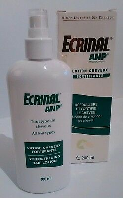 Ecrinal ANP strengthening HAIR lotion w/ horse mane extract 200ml NEW