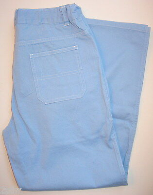 New Boys Girl Hanna Andersson Light Blue Cotton Pants 160  NWT Easter