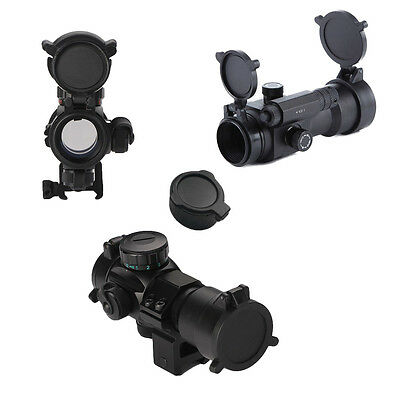 Rifle Scope Quick Flip Spring Up Open Lens Cover Cap Eye Protect Objective Cap
