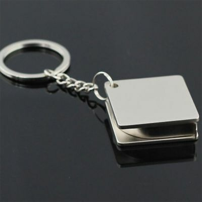 New Portable Key Ring Multi-functional Metal Ruler Tape Measure Key Chain