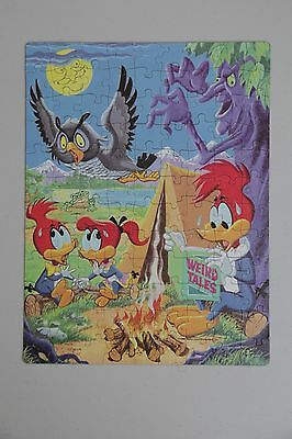Woody Woodpecker 100-Piece Jigsaw Puzzle, 11.5 x 15 Inches, 1984 Walter Lantz