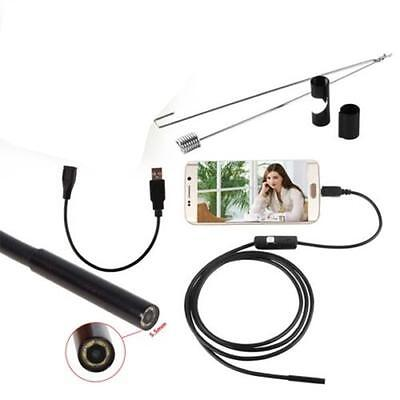 1.5 M 6LED Android Endoscope Waterproof Inspection Camera Micro USB Video Cam GU