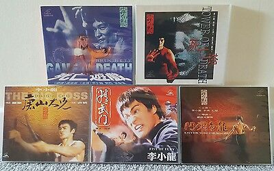 RARE...TAIWAN 5 VCD SET incl BIG BOSS, FIST OF FURY, GAME OF DEATH...BRUCE LEE !