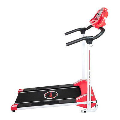 Power Fitness Home Laufband Elektrisch Klappbar Cardio bis 10 kmh 120kg Walking