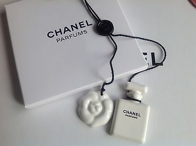 CHANEL Accessory Camelia Charm Brand New VIP