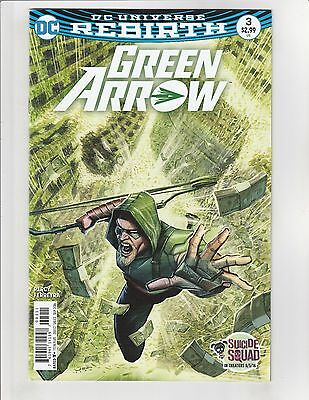 Green Arrow (2016) #3 VF/NM 9.0 DC Comics Rebirth