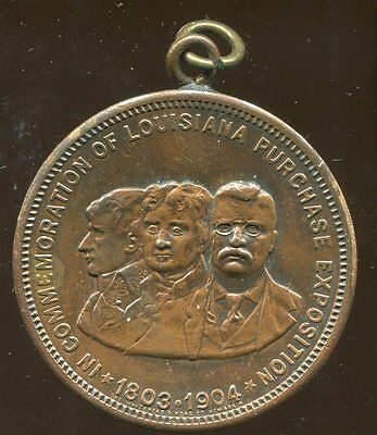 1904 Louisiana Purchase Exposition Medal, St. Louis, Huyler's Chocolate Co.30mm