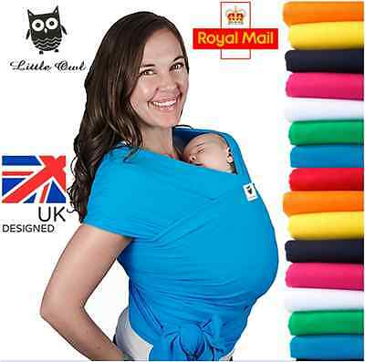 BABY WRAP SLING Summer breathable, Silky Soft and super light - MANY COLOURS!!!