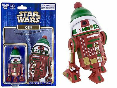 Disney Parks Star Wars R2-H16 Holiday Christmas Droid Factory Sealed New VHTF