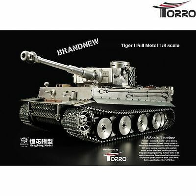 RC Panzer HengLong 1/8 Full Metall RC Tiger I