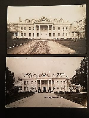 1915 Hamilton Montana Mt Darby Ranch W Fork Stagecoach Carried Postcard Darby