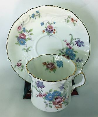 Hammersley Teacup And Saucer Multi  Floral Great Design