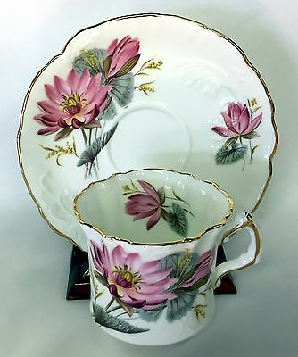 Hammersley Teacup And Saucer Pink Floral Great Design