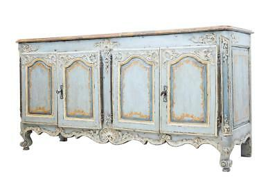 Rare 18Th Century French Oak Painted Dresser Sideboard