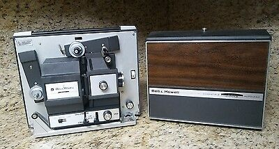 Bell And Howell Autolaod Super Movie Projector Model 466ZB Vintage