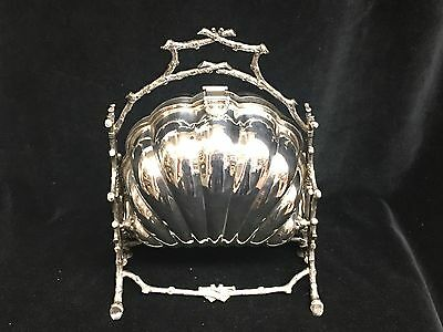 English Silver Plated Biscuit Box/toast Keeper C.1890