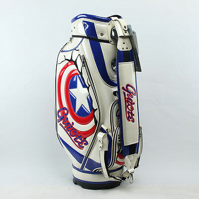 Captain America 10.5' Tour Staff Bag with Carry Strap, Rain Hood, Free Delivery