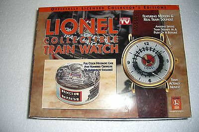 Vintage Lionel Train Watch Nib