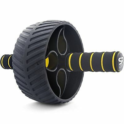 Sports Research Ab Roller Wheel - Includes Knee Pad and Training Guide | Prem...