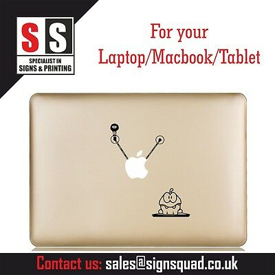 Cut the Rope retro funny cool nice Macbook Laptop Vinyl Decal Sticker Skin new