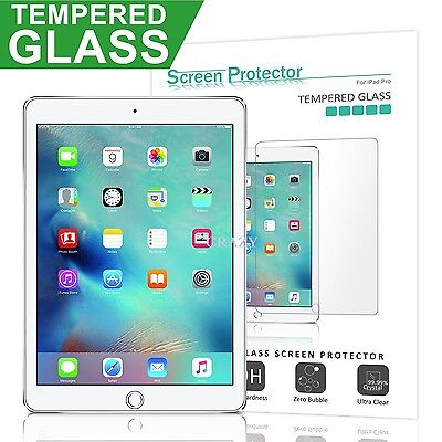"""Tempered Glass LCD Screen Protector Film Guard For Apple New iPad 9.7"""" 2017"""