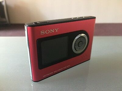 Sony Walkman NW-HD3 Red/PInk (20 GB) Media Player - Rare