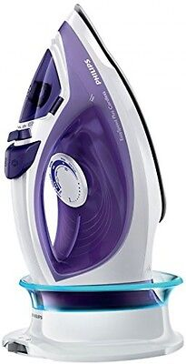 Philips GC2086/30 EasySpeed Plus Cordless Steam Iron with Compact Smart Base,