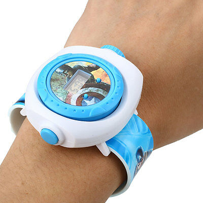 Kid's Fashion Cartoon Projection Watches Projector Patterns Children Favors Toy