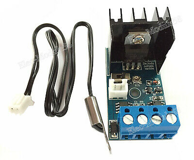 DC 12V 1A Automatic Fan Temperature Control Speed Controller Governor