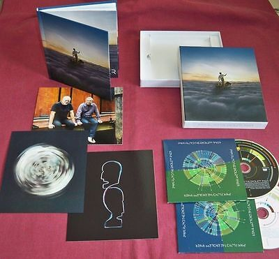 Pink Floyd. Endless River.cd And Blu Ray. Deluxe Box Set+Extras. New And Sealed