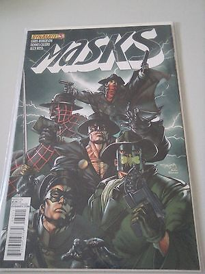 Masks Issue 3 Dynamite