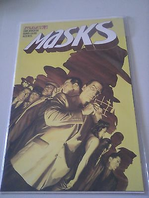 Masks Issue 4 Dynamite