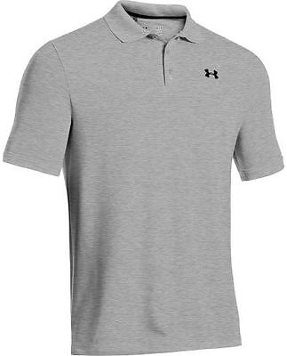 Under Armour Performance Polo, 025 true gray heather/black