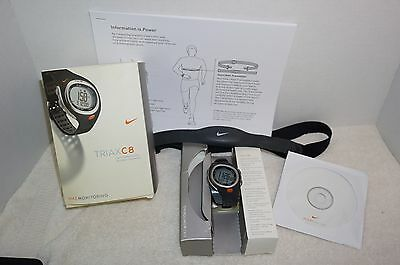 Nike Triax C8 Heart Rate Monitor with chest band SM0017 Exercise Fit - Org. Box