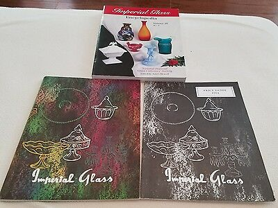 3 Imperial Glass Encyclopedia  Vo 3 M-Z Soft Back Book James Measell Illustrated
